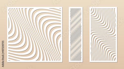 Canvas Print Laser cut patterns