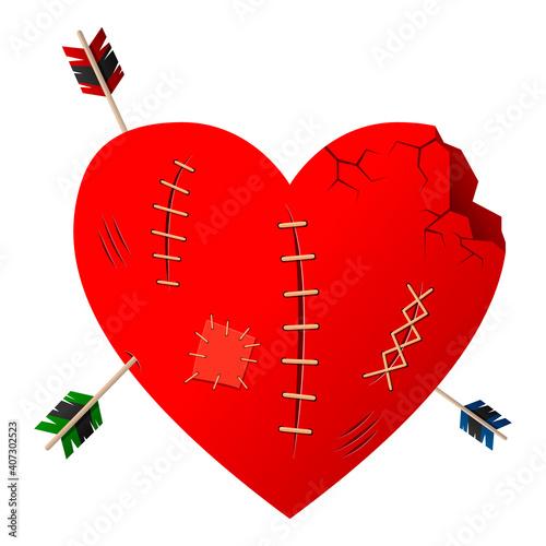 Canvas Print Valentines Day