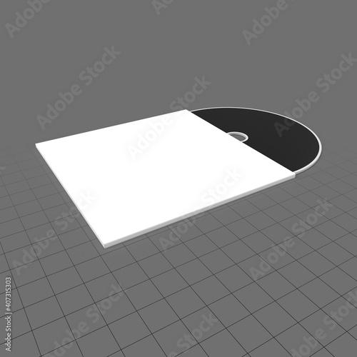 Obraz CD sleeve - fototapety do salonu