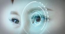 Human Eye Futuristic System Concept
