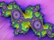 Leinwandbild Motiv Multicoloured abstract computer art