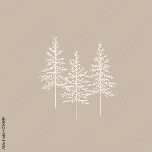 Obraz na plátně Christmas tree
