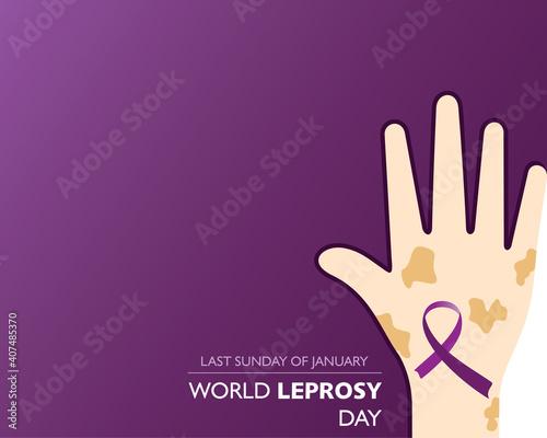 Fotografie, Obraz World Leprosy Day observed on last Sunday of January every year