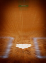 Baseball Homeplate Batter Box Chalk Line Brown Clay Dirt Zoom Action