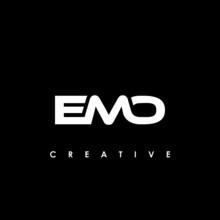 EMO Letter Initial Logo Design Template Vector Illustration
