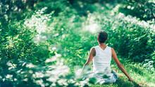 Mind Calming Inner Peace Outdoor Meditation