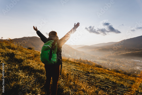 Obraz Nature helps slowing down in a fast changing world - fototapety do salonu