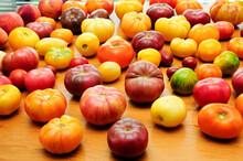 Sweet Heirloom Tomatoes Fresh Picked