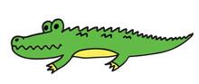 Crocodile Or Alligator Drawing