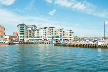 Poole Habour, Dorset, UK, In The Summertime.