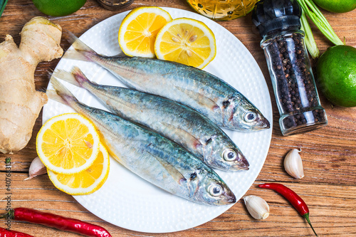 Fotografie, Obraz round scad fish