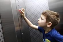 Kid Calling Elevator