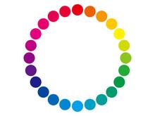 色相環のベクターイラスト