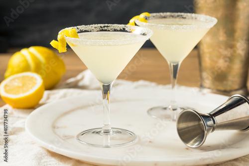 Boozy Refreshing Lemon Drop Martini © Brent Hofacker