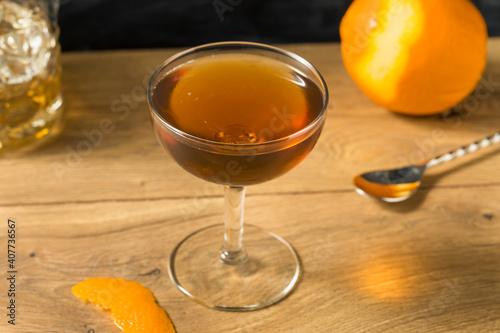 Homemade Boozy Whiskey Tipperary Cocktail © Brent Hofacker