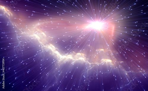 Photo Black hole - event horizon
