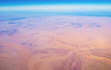 The Flight Over The North Africa