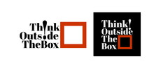 Think Outside The Box, Modern And Stylish Motivational Quotes Typography Slogan. Abstract Design Vector For Print Tee Shirt, Typography, Poster And Other Uses. Global Swatches.