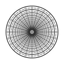 Creative Luxury Of Mandala Illustration