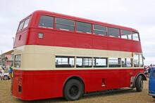 Vintage Double Decker Bus