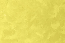 Grunge Texture For Background. Trendy Color Of Year 2021 - Illuminatiing Yellow