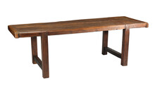 Table Old Farm Table With Clipping Path.