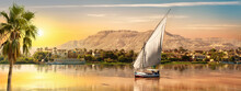 Great Nile In Aswan