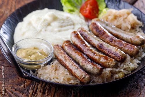 Photo nuremberg sausages