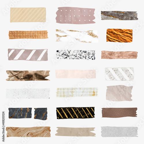 Obraz Collection of washi tape vectors - fototapety do salonu