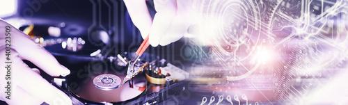 Fototapeta Computer equipment
