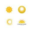 sun illustration logo