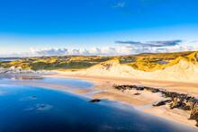 The Coast Between Kiltoorish Bay Beach And The Sheskinmore Bay Between Ardara And Portnoo In Donegal - Ireland