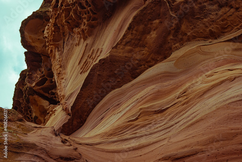 Fotografija Beautiful shot of red canyons