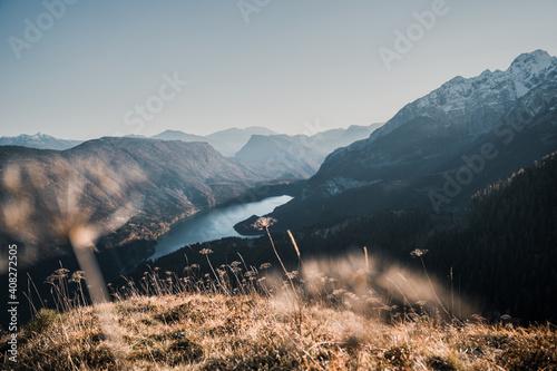 Fényképezés mountain landscape in the Cima Tosa area, near Molveno and Andalo
