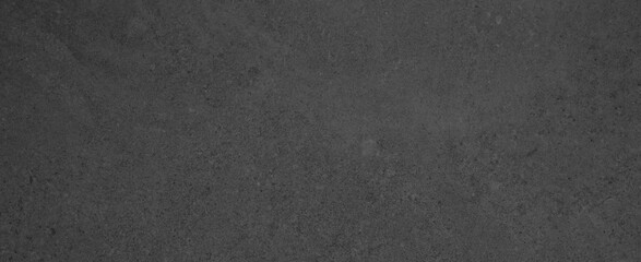 Dark black anthracite gray grunge polished natural stone tiles / terrace slabs / granite concrete texture background banner panorama
