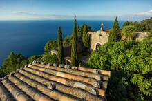 Ermita De La Trinitat, XVIII Century. Valldemossa. Sierra De Tramuntana. Mallorca. Balearic Islands. Spain.