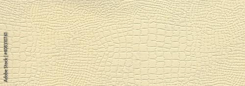 Fotografering Suitable for background, crocodile leather texture surface kraft beige paper clo