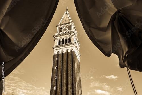 Fotomural historic buildings in Venice - Italy - San Marco square