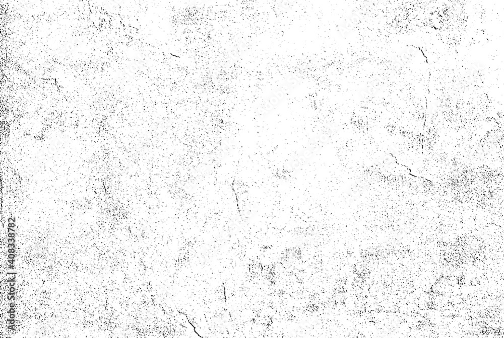 Fototapeta Subtle halftone grunge urban texture vector. Distressed overlay texture. Grunge background. Abstract mild textured effect. Vector Illustration. Black isolated on white. EPS10.