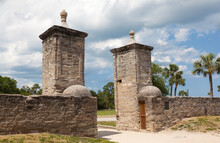 Old City Gate.  St. Augustine, Florida.
