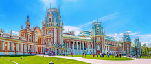 The Imperial Residence Of Tsaritsino, Moscow, Russia