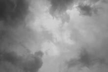 Fundo Nuvem. Céu Nublado. Céu Escuro