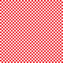 Checkered Red And White Seamless Background