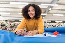Woman Working In Tissue Workshop