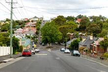 Residential Street In Hobart