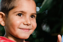 Close-up Of Little Aboriginal Boy Smiling