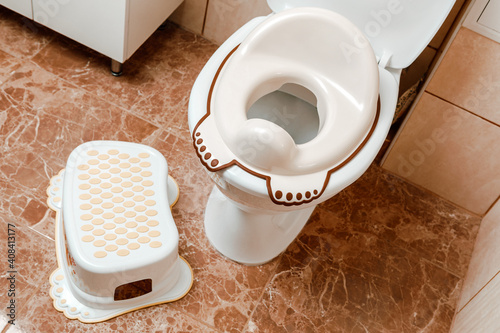 Canvas Print Lid for toilet seat for children