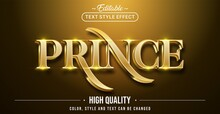 Editable Text Style Effect - Prince Text Style Theme.