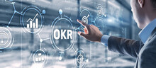 Objectives And Key Results OKR. Methods For Project Management.