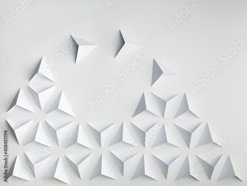 Obraz Abstract paper concepts origami - fototapety do salonu